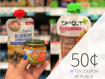 Earth's Best Or Sprout Baby Food Only 50¢ At Publix on I Heart Publix 1