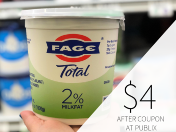 Fage Greek Strained Yogurt Only $4 At Publix on I Heart Publix 1
