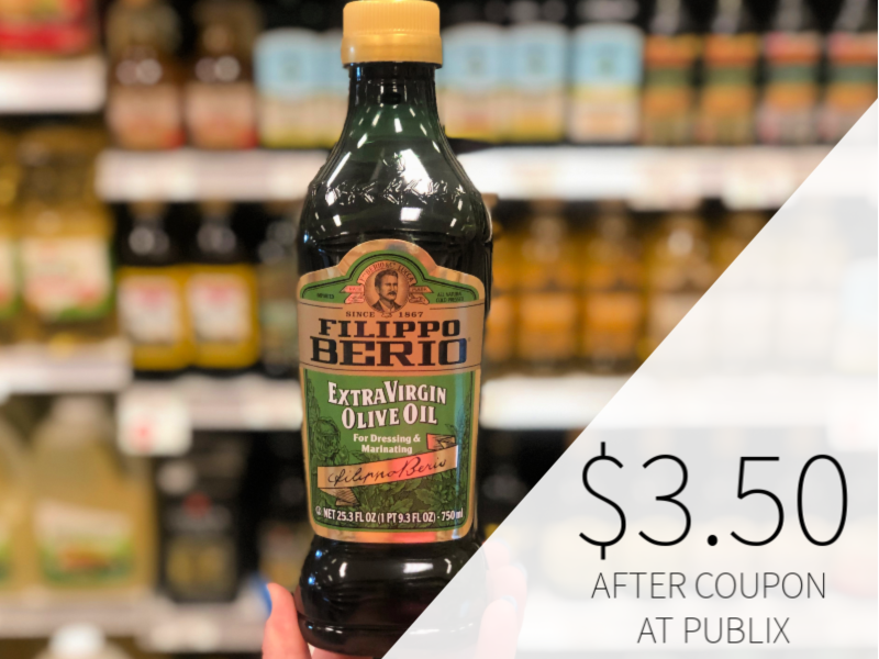 Filippo Berio Olive Oil $3.50 At Publix on I Heart Publix 1