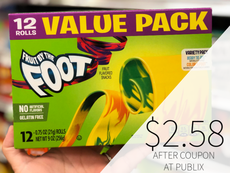 Betty Crocker Fruit Snacks Only $2.56 At Publix on I Heart Publix 1