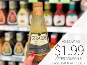 Girard's Salad Dressing As Low As $1.99 At Publix on I Heart Publix 1