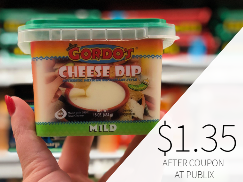 Gordo's Cheese Dip Only $1.35 At Publix