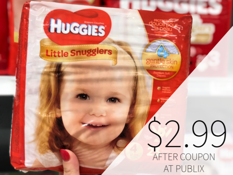 New Huggies Coupons - Diapers Only $ on I Heart Publix 1