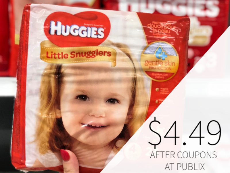 photo relating to Huggies Wipes Coupon Printable referred to as Refreshing Huggies Discount coupons Indicate Diapers Basically $4.49 At Publix (+