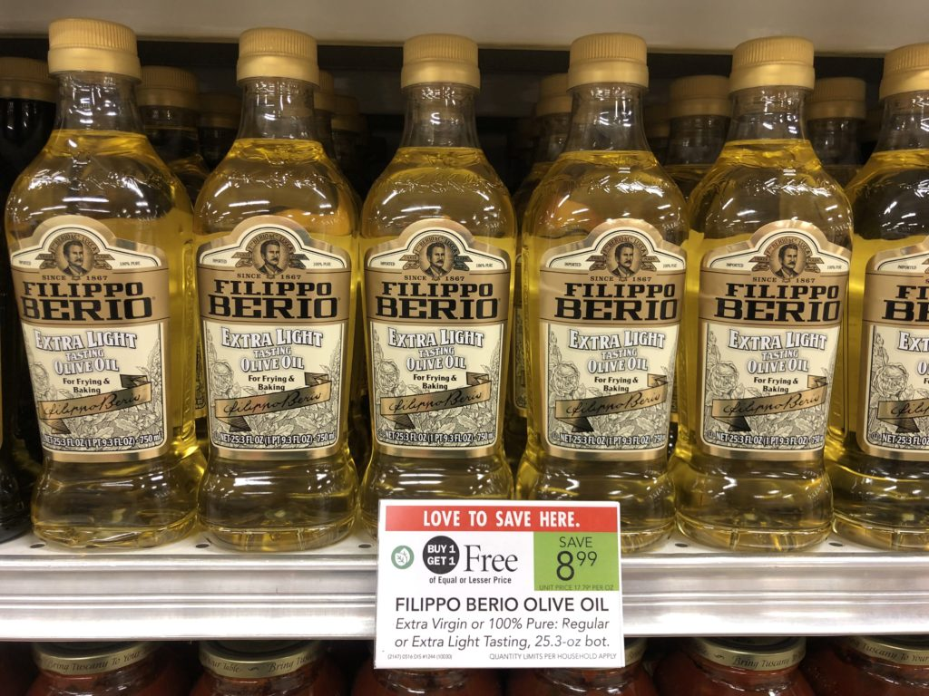 Filippo Berio Olive Oil $3.50 At Publix on I Heart Publix