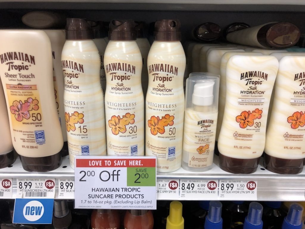 Hawaiian Tropic Suncare Products As Low As $5.49 At Publix on I Heart Publix