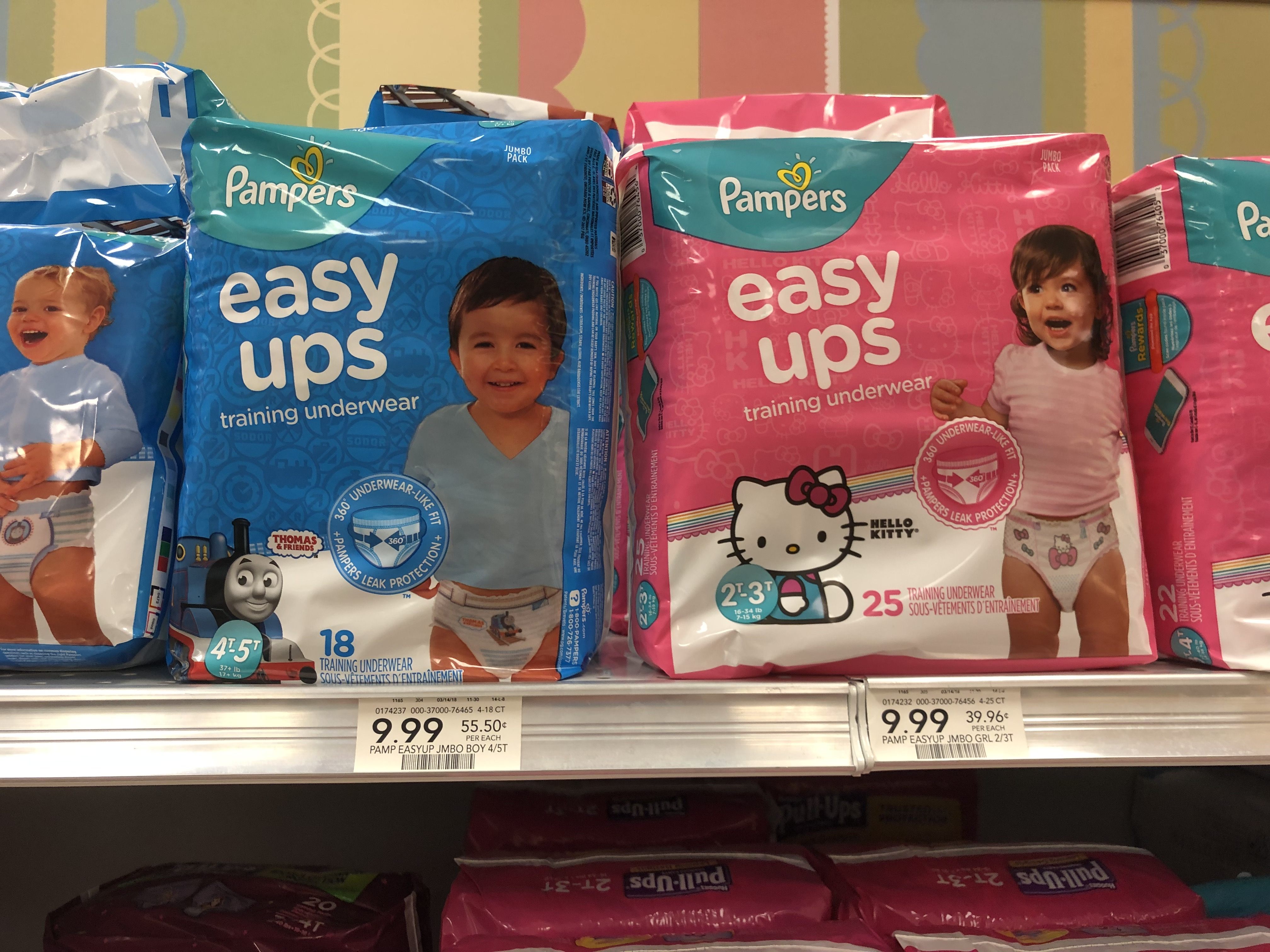 Pampers Easy Ups Training Underwear As Low As $2.99 At Publix