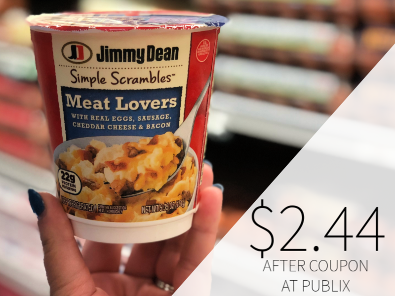 New Jimmy Dean Simple Scrambles Coupon - Only $2.44 At Publix on I Heart Publix 1