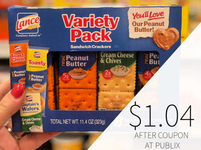 Lance Crackers Only $1.04 At Publix on I Heart Publix