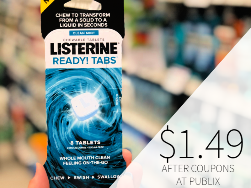 New Listerine Coupons - Listerine Pocketpaks Only $ on I Heart Publix