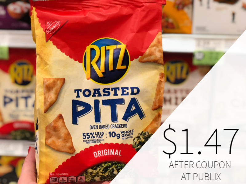 Nabisco Ritz Toasted Chips Only $1.47 At Publix