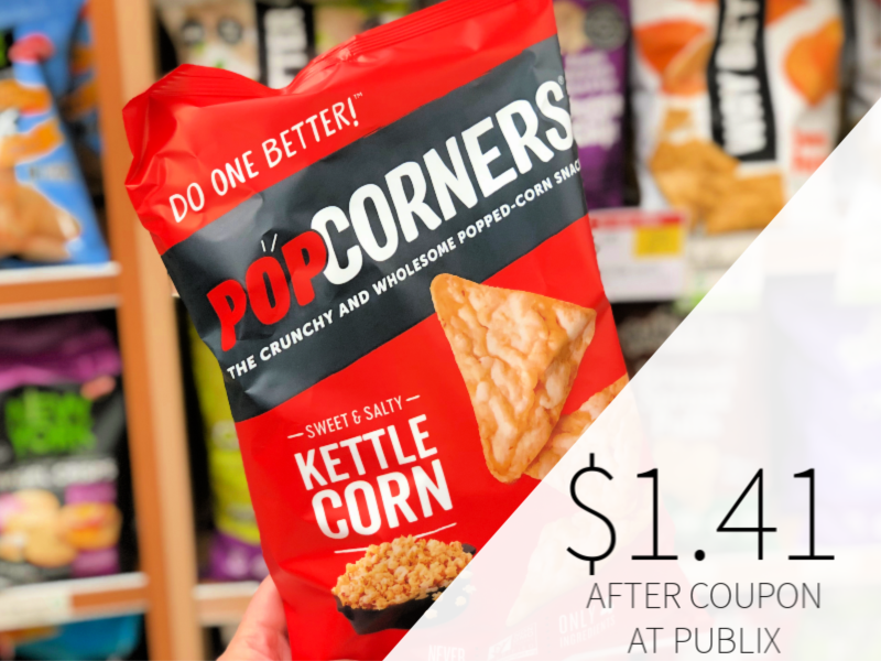 Popcorners Popped-Corn Snack Only $1.41 At Publix on I Heart Publix