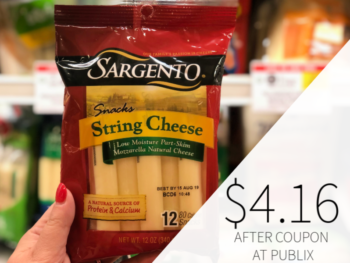 Sargento String & Stick Cheese Only $4.16 At Publix on I Heart Publix