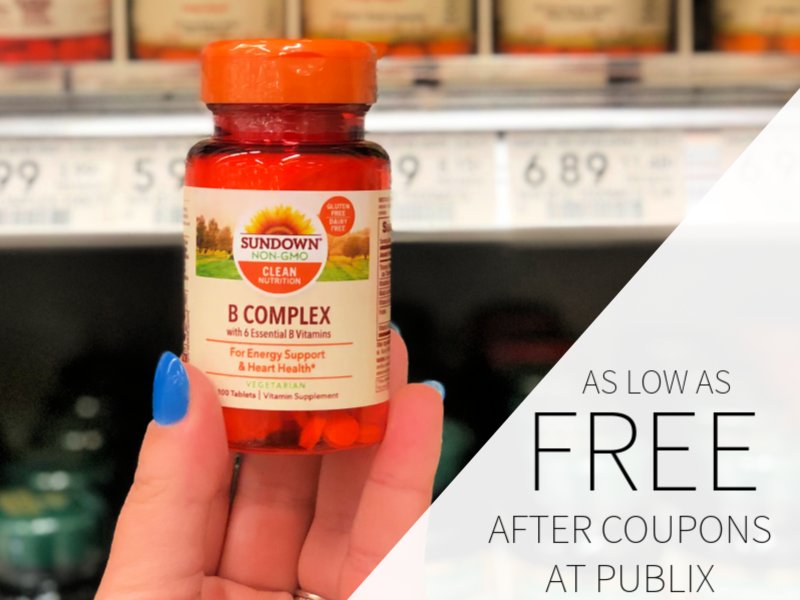 Sundown Vitamins As Low As FREE At Publix on I Heart Publix 1