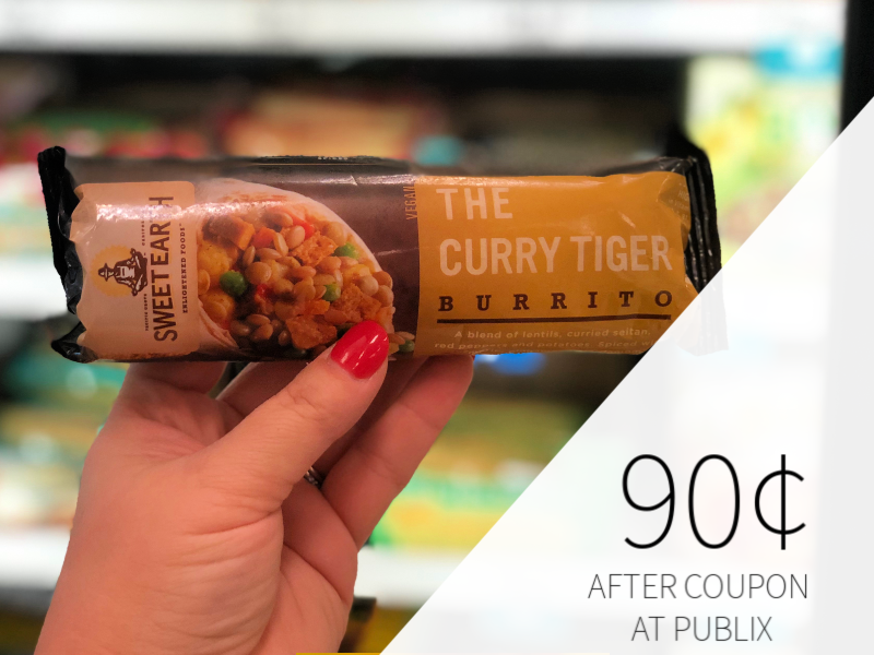 Sweet Earth Burritos Only 90¢ At Publix For Some (+ Cheap Entrees) on I Heart Publix