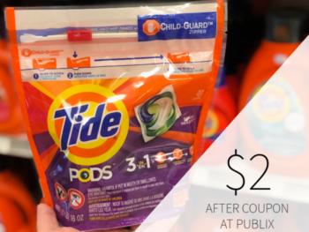 Tide Pods Detergent Only $2 At Publix on I Heart Publix 1