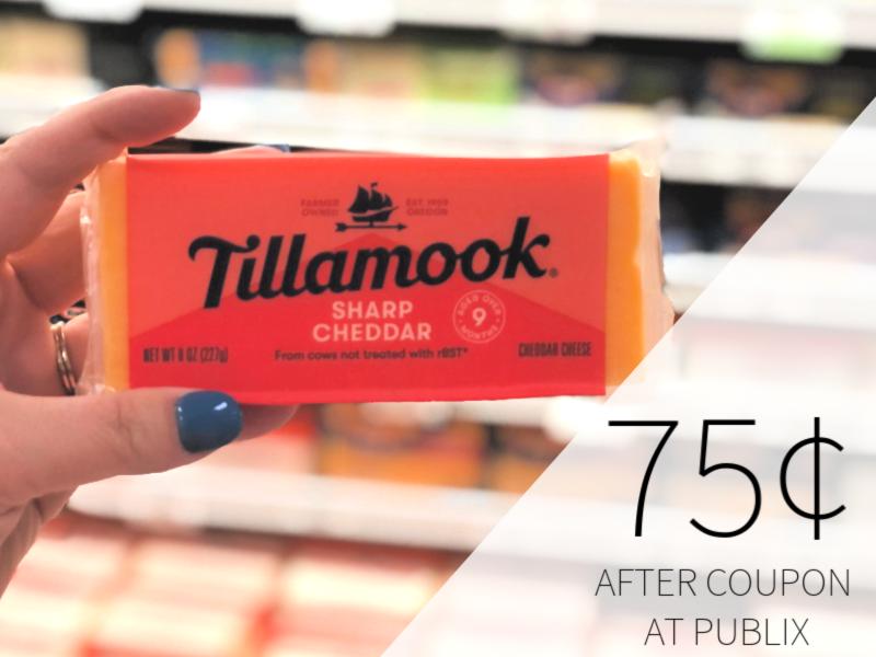 Tillamook Cheese Chunks Only $ on I Heart Publix