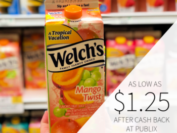 Welch's Fruit Juice Cocktail Blend As Low As $1.25 At Publix on I Heart Publix 1