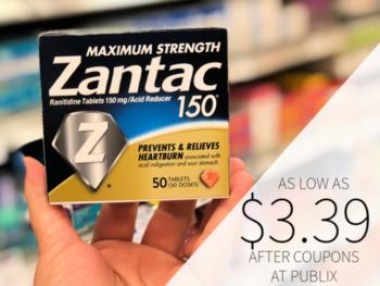 Zantac As Low As $3.39 At Publix on I Heart Publix 1