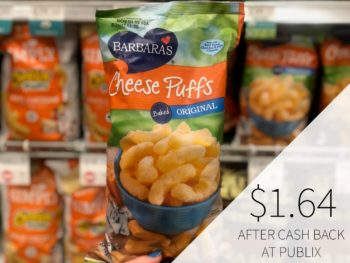 Barbara's Cheese Puffs Just $1.64 At Publix on I Heart Publix 1