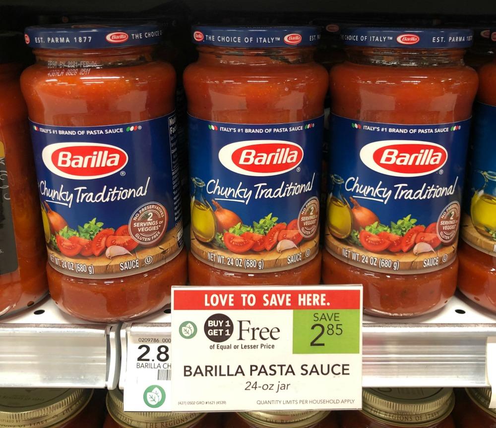 New Barilla Pasta Sauce Coupon For Publix BOGO - Jars Just 68¢ on I Heart Publix