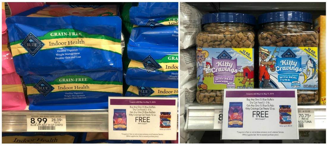 Blue Buffalo Cat Food & Treats Just 99¢ Total At Publix on I Heart Publix