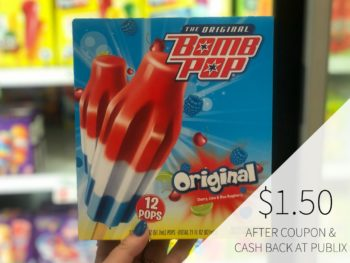 Bomb Pop Just $1.50 Per Box At Publix on I Heart Publix