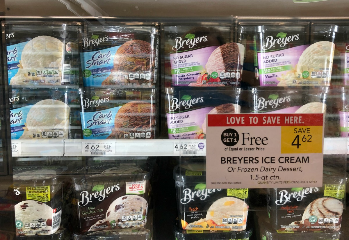 Fantastic Deal On Breyers Ice Cream This Week At Publix - Stock Your Freezer At A Great Price on I Heart Publix