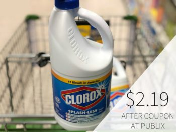 New Clorox Coupon To Print on I Heart Publix 1