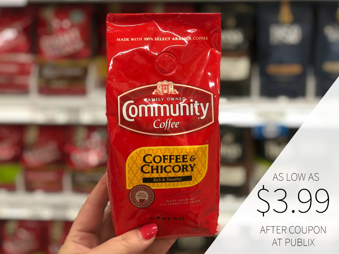 Community Coffee As Low As $3.99 At Publix