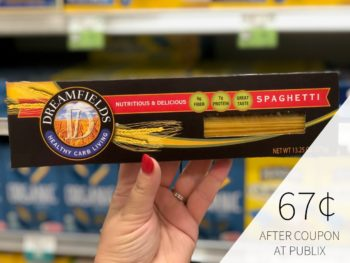 Dreamfields Pasta As Low As 67¢ At Publix on I Heart Publix 1
