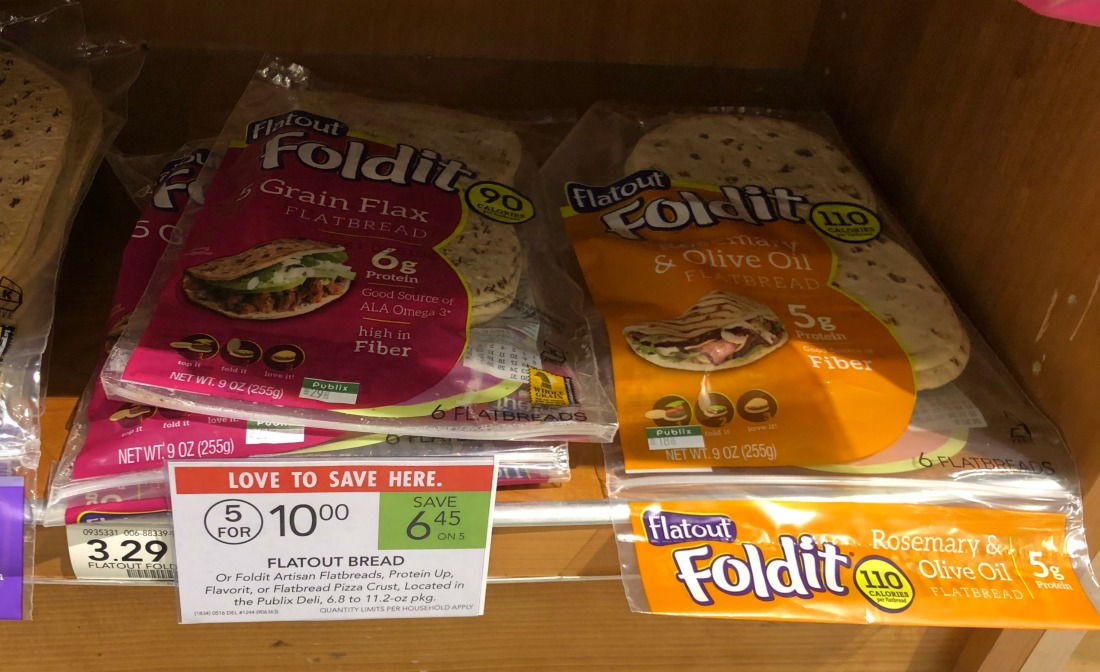 Flatout Bread Only $1 At Publix on I Heart Publix 1