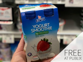 FREE LALA Yogurt Smoothie 4-Pack At Publix on I Heart Publix