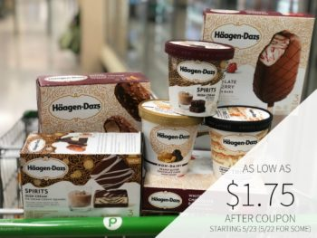 New Haagen-Dazs & Nestle Outshine Bars Coupon For Upcoming BOGO on I Heart Publix 1