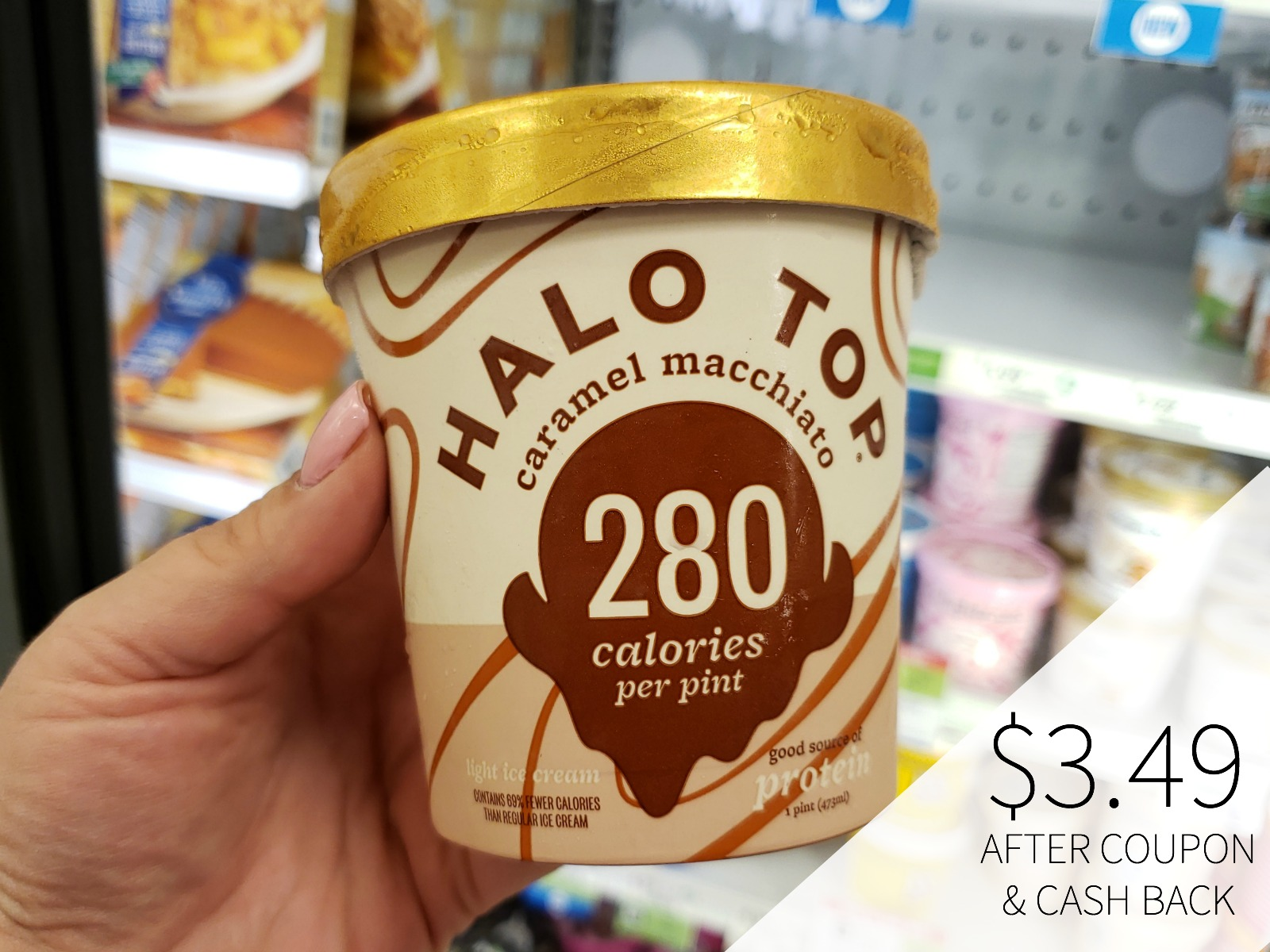 Halo Top Ice Cream Pints Just $3.74 on I Heart Publix 1