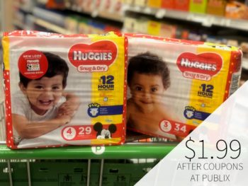 Awesome Deal On Huggies Diapers At Publix - Just $1.99 on I Heart Publix 1