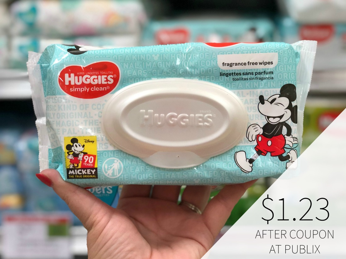 Huggies Wipes Only $1.23 Per Pack At Publix on I Heart Publix