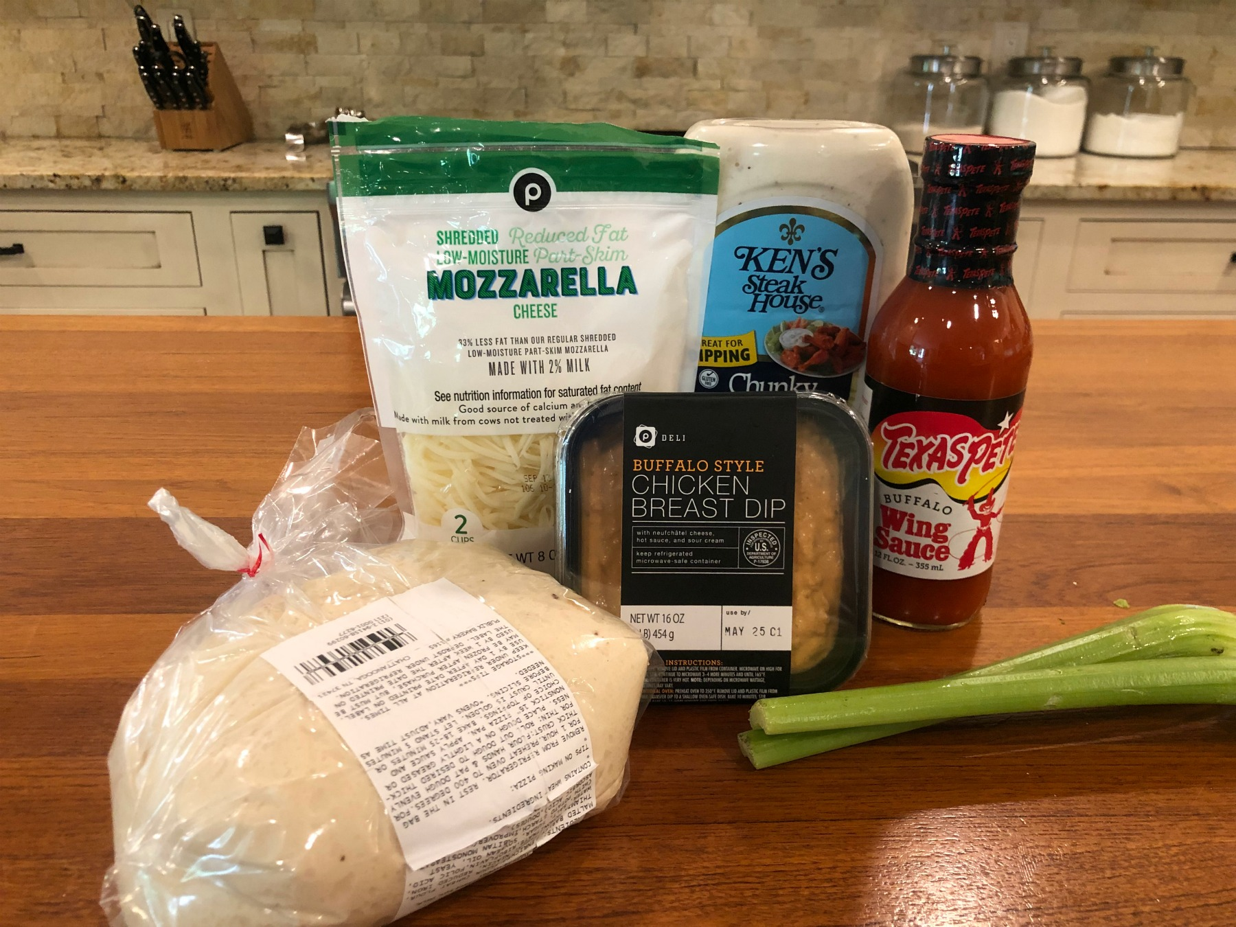 Easy Buffalo Chicken Pizza - Super Meal To Go With The Sales At Publix on I Heart Publix