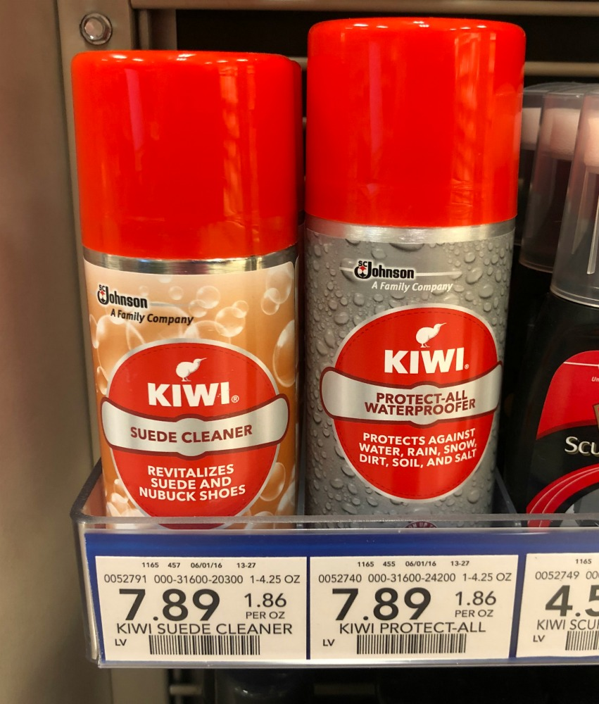 New Kiwi Coupon - Save On Shoe Cleaner & Protector At Publix on I Heart Publix