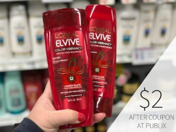 New L'Oreal Coupons - Elvive Just $2 At Publix on I Heart Publix 1
