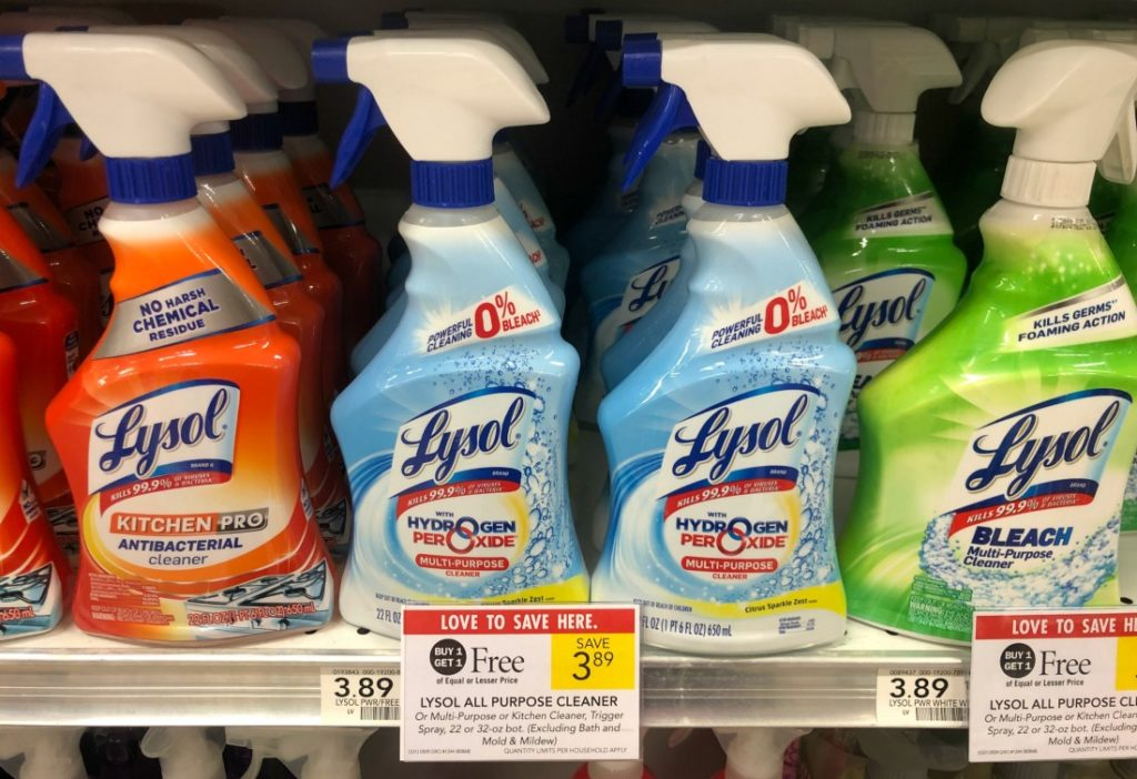 Lysol All Purpose Cleaner Only $1.45 At Publix on I Heart Publix 1