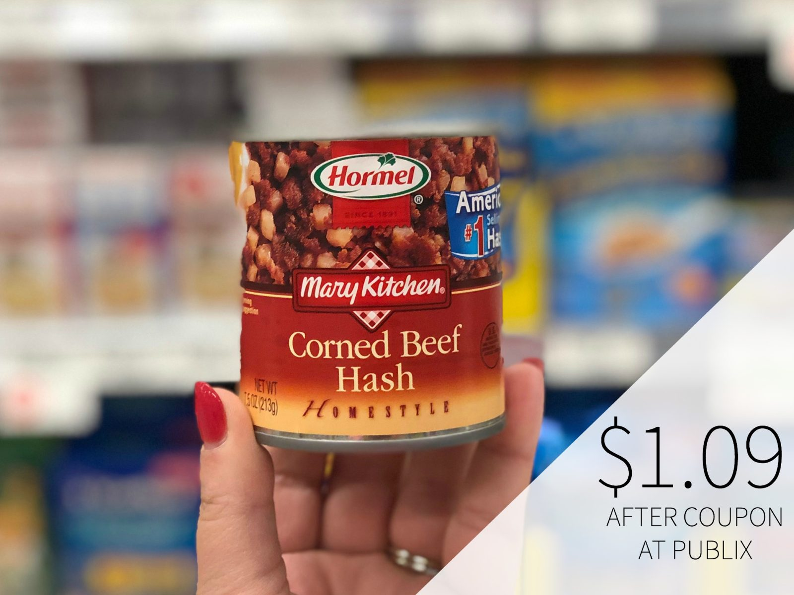 Hormel Mary Kitchen Hash Only $2 At Publix on I Heart Publix