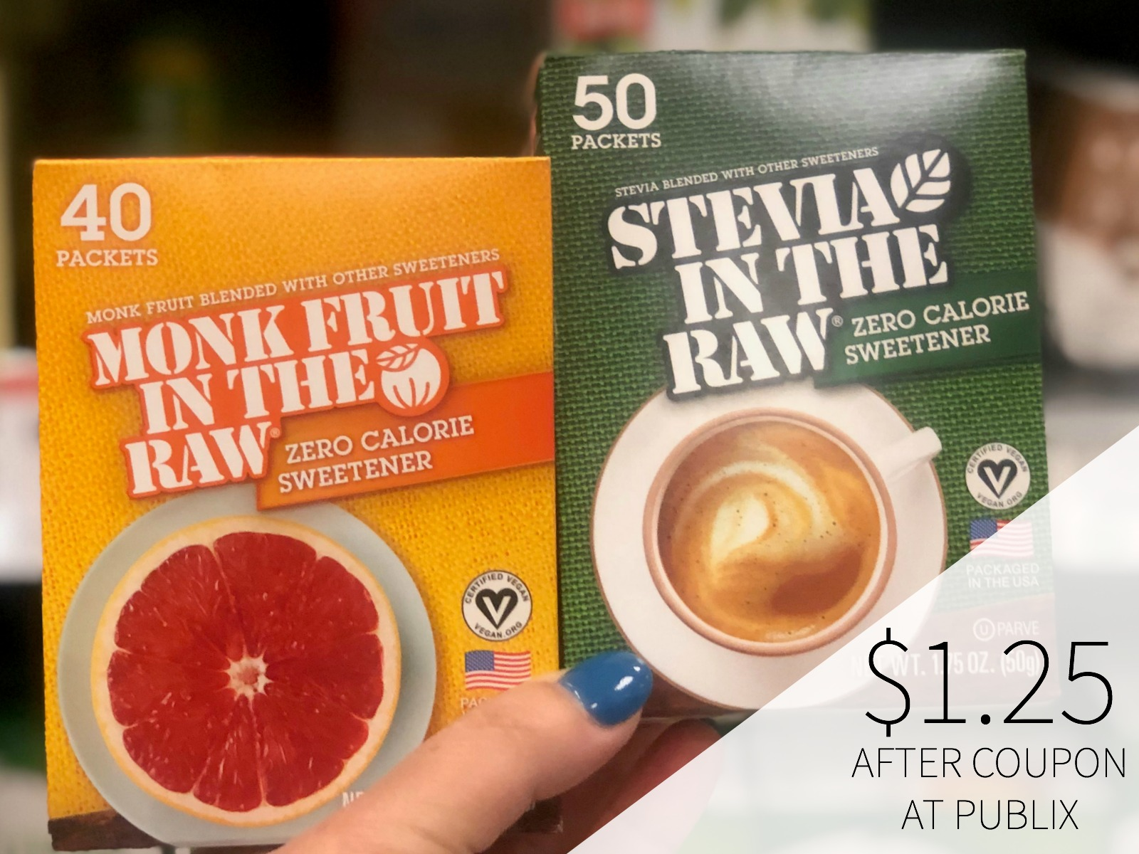 Stevia In The Raw Or Monk In The Raw Sweetener Only $1.25 At Publix on I Heart Publix