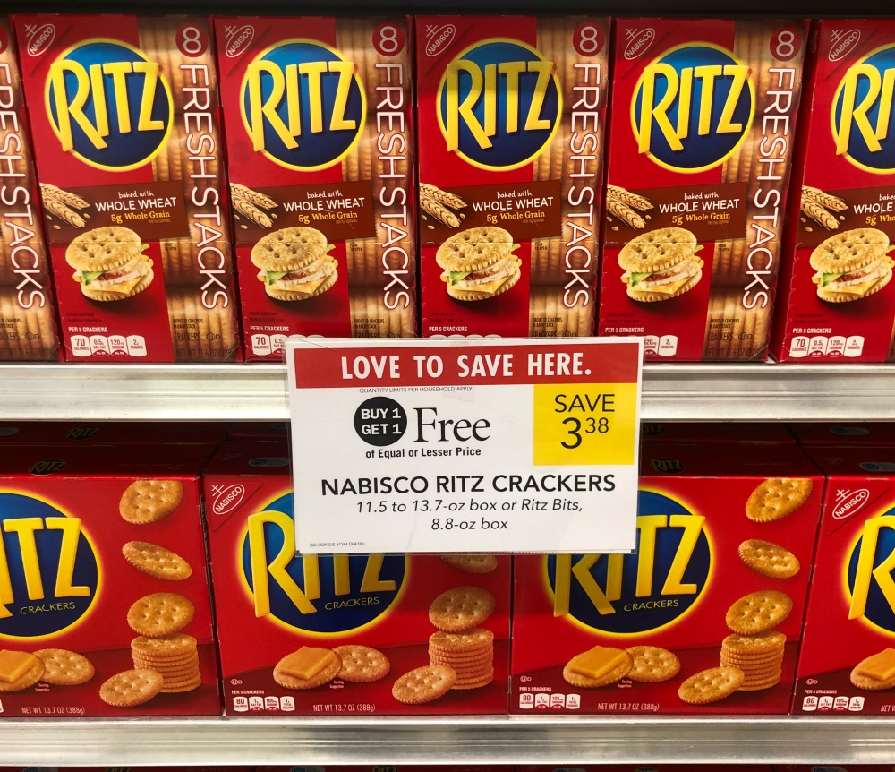 Nabisco Ritz Crackers As Low As 80¢ At Publix on I Heart Publix 1