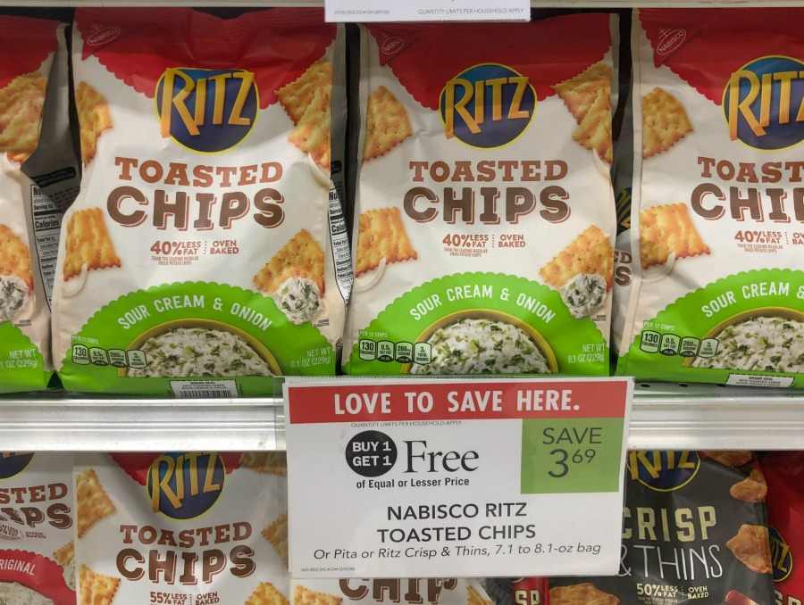 Nabisco Ritz Crackers As Low As 69 At Publix: Nabisco Ritz Toasted Chips Only $1.47 At Publix