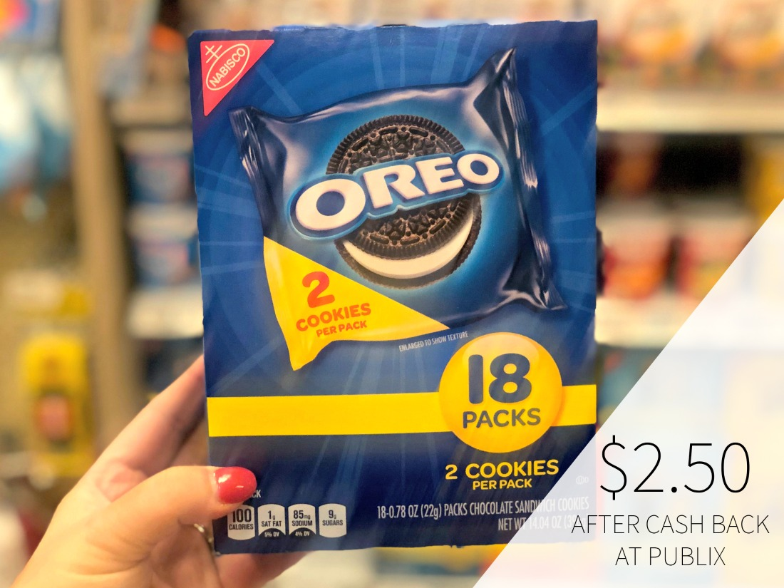Nabisco Multipack Snacks Only $2.50 At Publix (Regular Price $6.49) on I Heart Publix