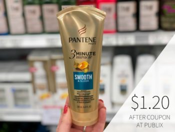 Pantene Hair Care Products As Low As $1.20 At Publix on I Heart Publix