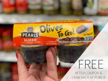 FREE Pearls Olives to Go At Publix on I Heart Publix 1