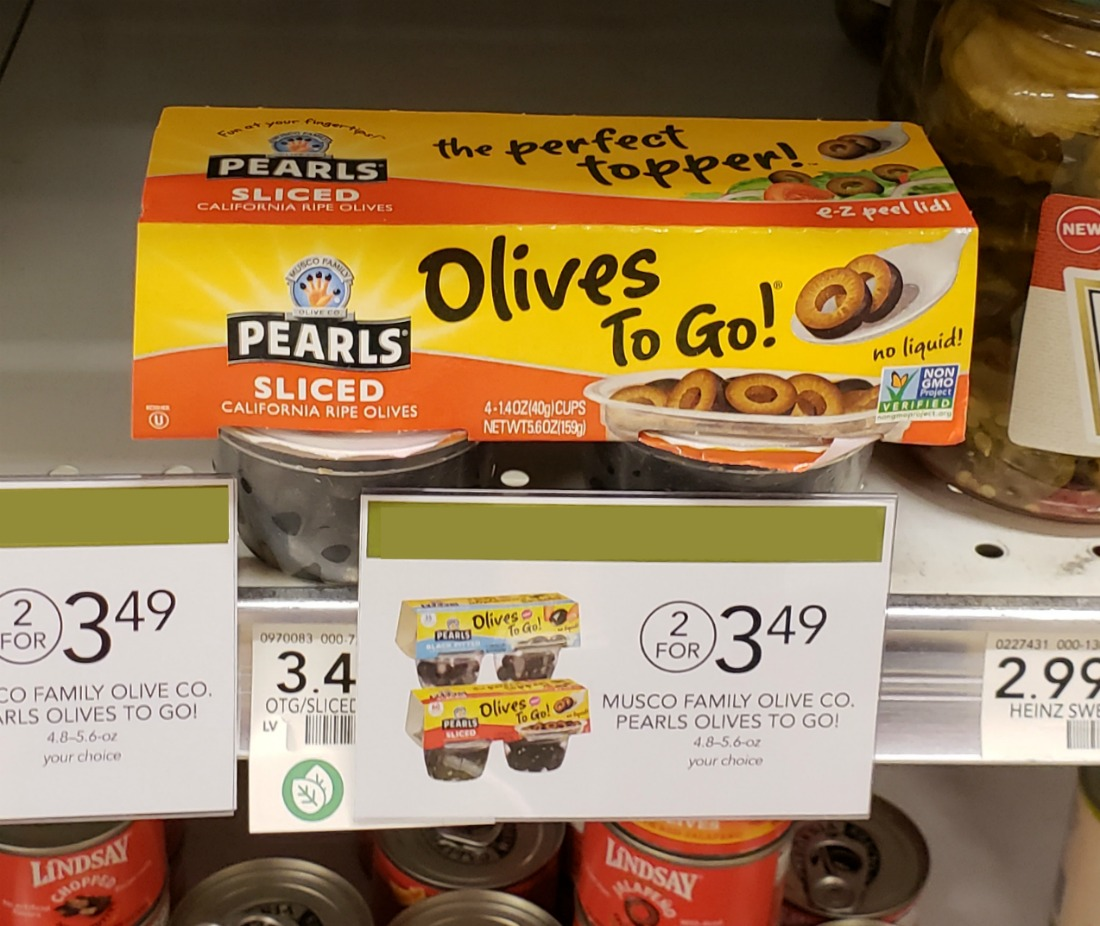 FREE Pearls Olives to Go At Publix on I Heart Publix