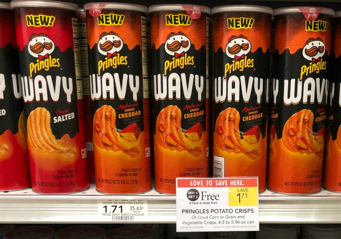 Pringles Wavy As Low As 16¢ At Publix on I Heart Publix 1